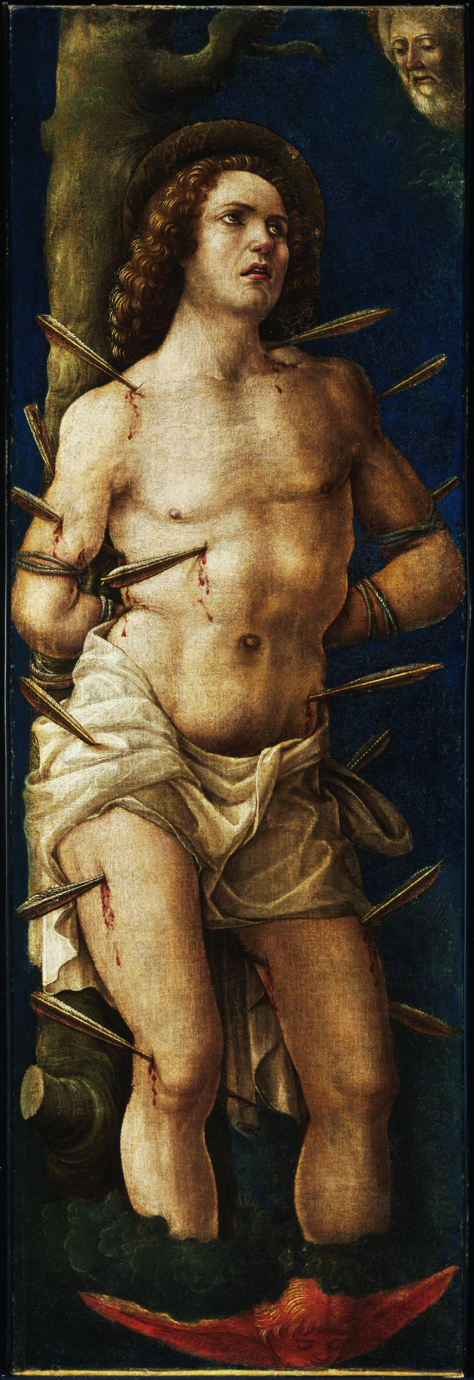 St. Sebastian by Liberale da Verona Princeton U Art Museum